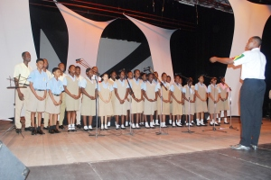 Winner Choir Category - New Amsterdam Secondary School