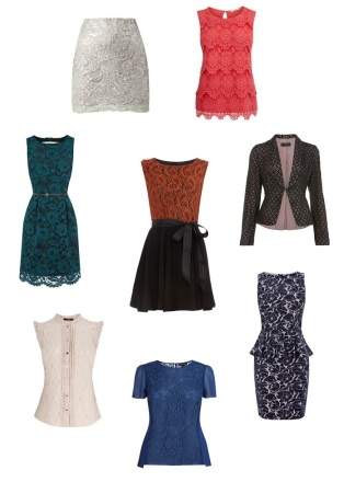 Trends 2012 Lace Outfits